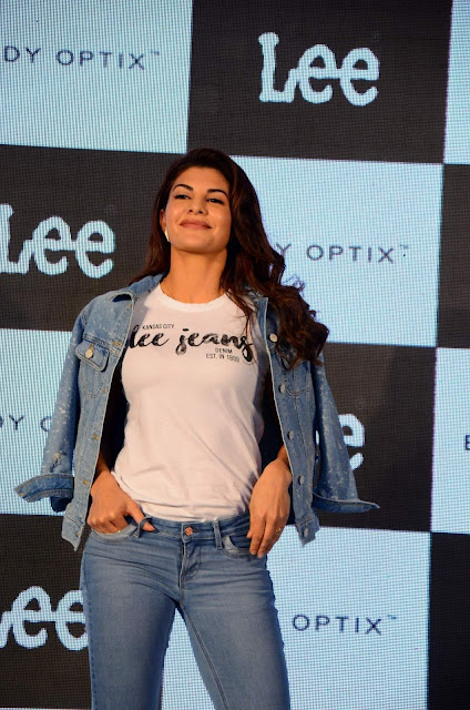 Jacqueline Fernandez Launches Lee Denim Stores In India As Brand Ambassador
