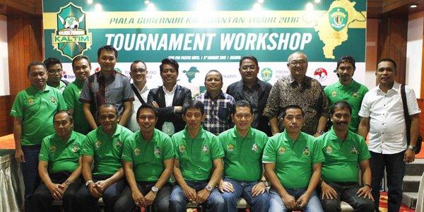 Piala Gubernur Kaltim Workshop