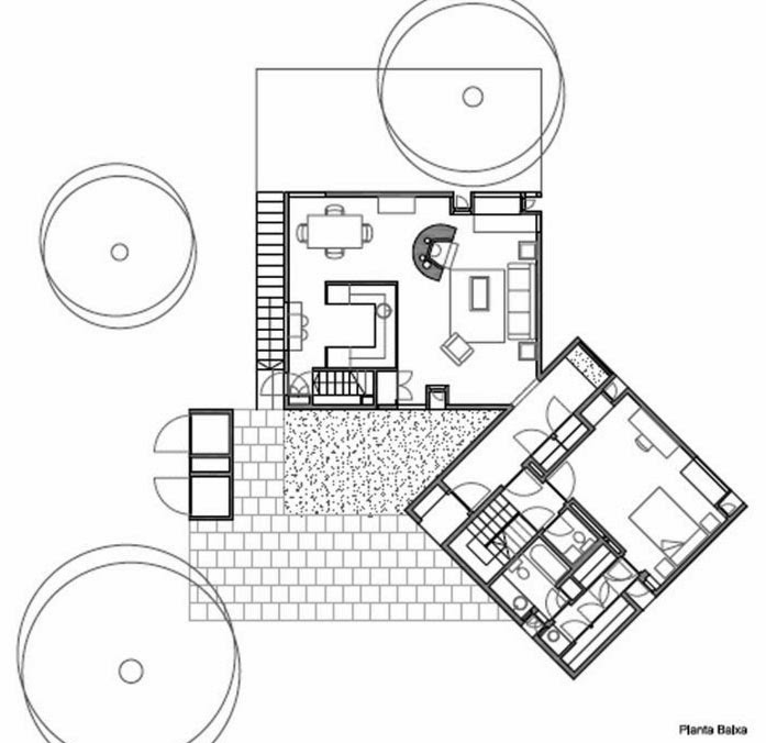 Fisher-House-Plan The Fisher House Floor Plan In Bronx on esherick house floor plan, richard neutra house floor plan, fisher house louis kahn cad, avery fisher hall floor plan, home alone house floor plan, louis kahn fisher house plan,