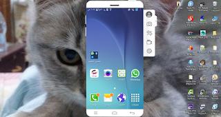 وبرنامج Wondershare MirrorGo أحد البرامج التى تساعدك على توصيل هاتفك الذكى بالكومبيوتر