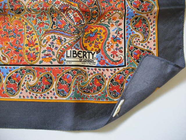 Vintage Jewel Box Liberty Silk Scarves On Trend