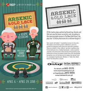ARSENIC AND OLD LACE Directed by Jamie Wilson