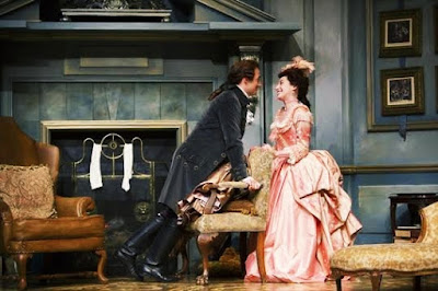 She Stoops To Conquer: drama scenes