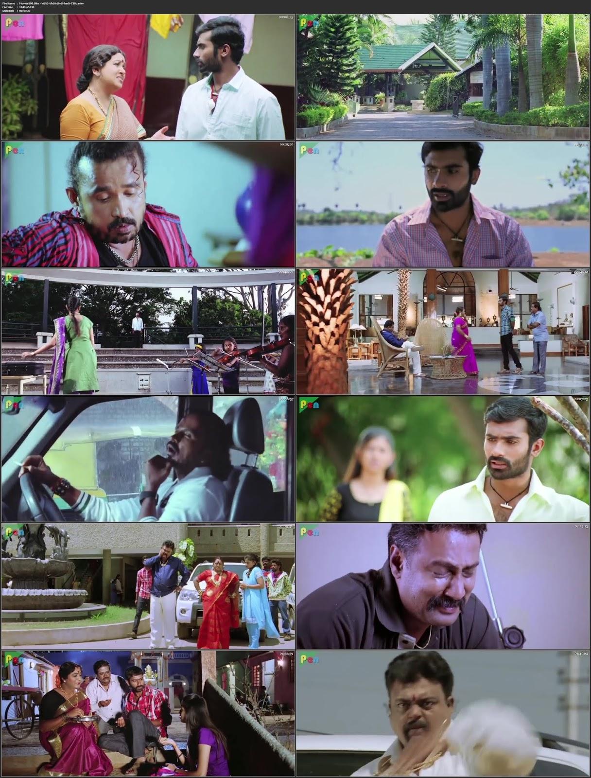Kaala Bhairava 2018 Hindi Dubbed Movie HDRip 720p