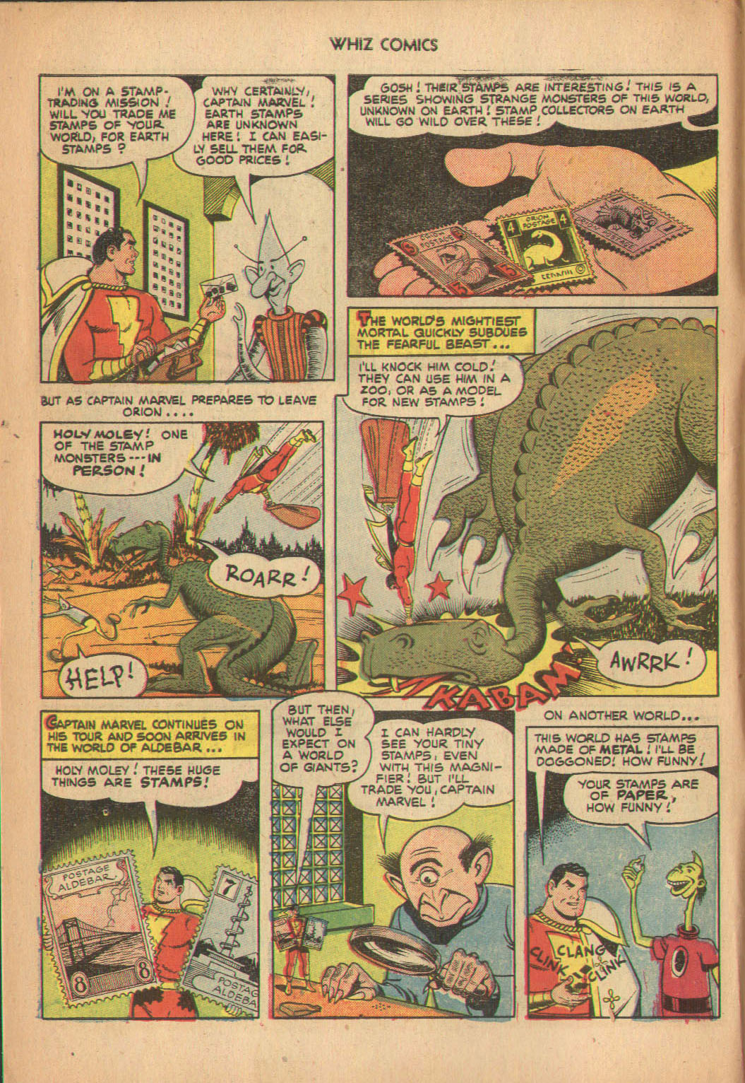 WHIZ Comics issue 137 - Page 6