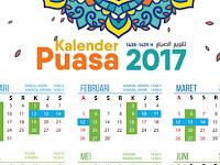 Kalender Puasa Ramadhan 2017 dan Kumpulan Resep Menu Buka Puasa 30 Hari Full. Semoga Varokah :v