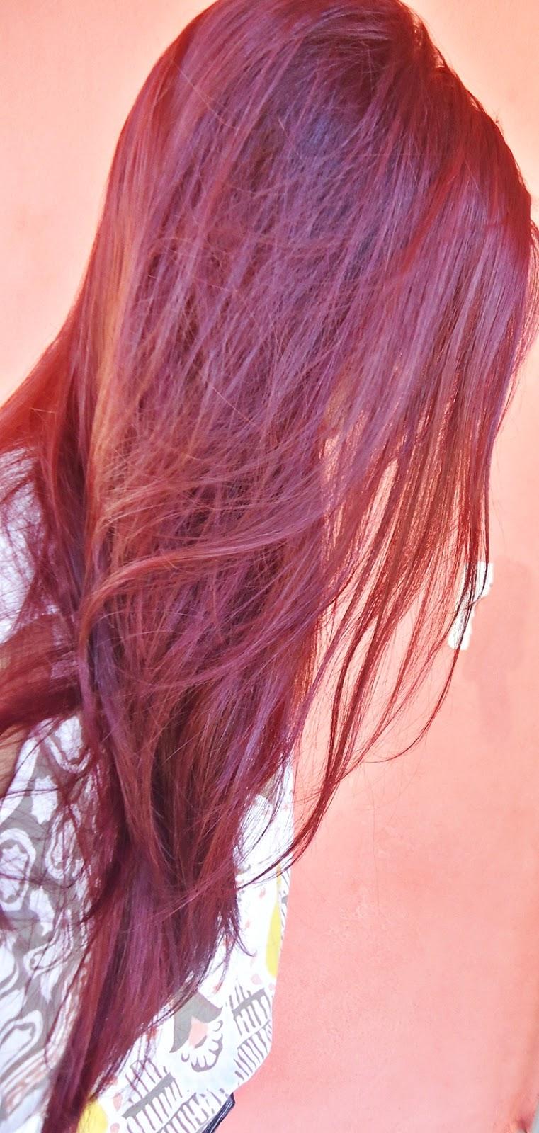 Red Effect Mask, máscara restauradora de cor para cabelos vermelhos