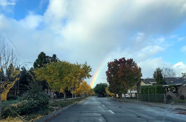 カリフォルニアの虹