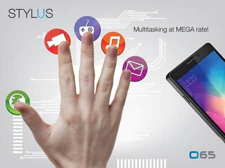 Stylus O65 Smartphone