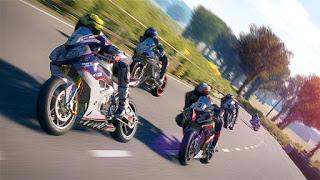 Play sistem PS Vita  game TT Isle of Man - Ride on the Edge ps4