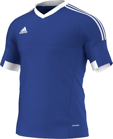 The new Adidas Tiro 15 Kit retails at 35 Euro and uses Adidas' Climacool  technology.