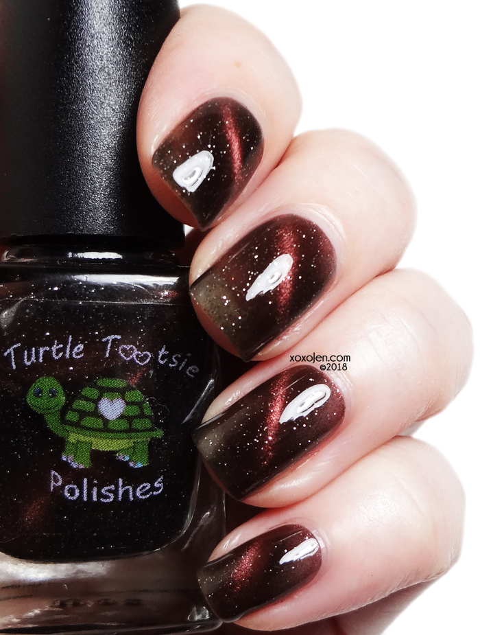 xoxoJen's swatch of Turtle Tootsie for Polish Pick Up: Bolide