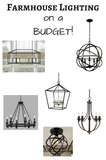 light fixtures, modern lighting, farmhouse lights, affordable lights