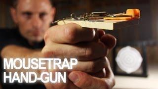 Як зробити іграшковий пістолет з мишоловки?