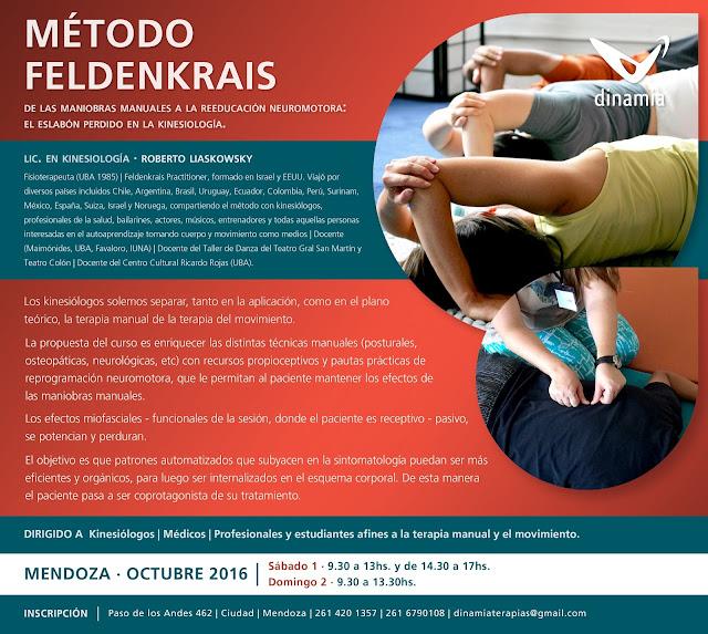 Curso de Método Feldenkraist en Mendoza por Roberto Liskowsky