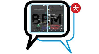 BBM Mod Black v3.0.0.18 Apk Terbaru 2016 Gratis