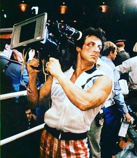 Stallone comparte fotos e historias del recuerdo de Rocky