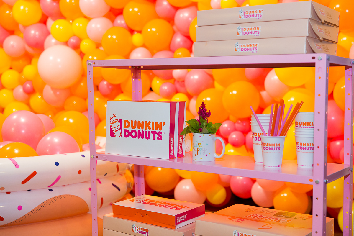 dunkin donuts museum of ice cream pool party festa piscina com balões blog do math brasilia