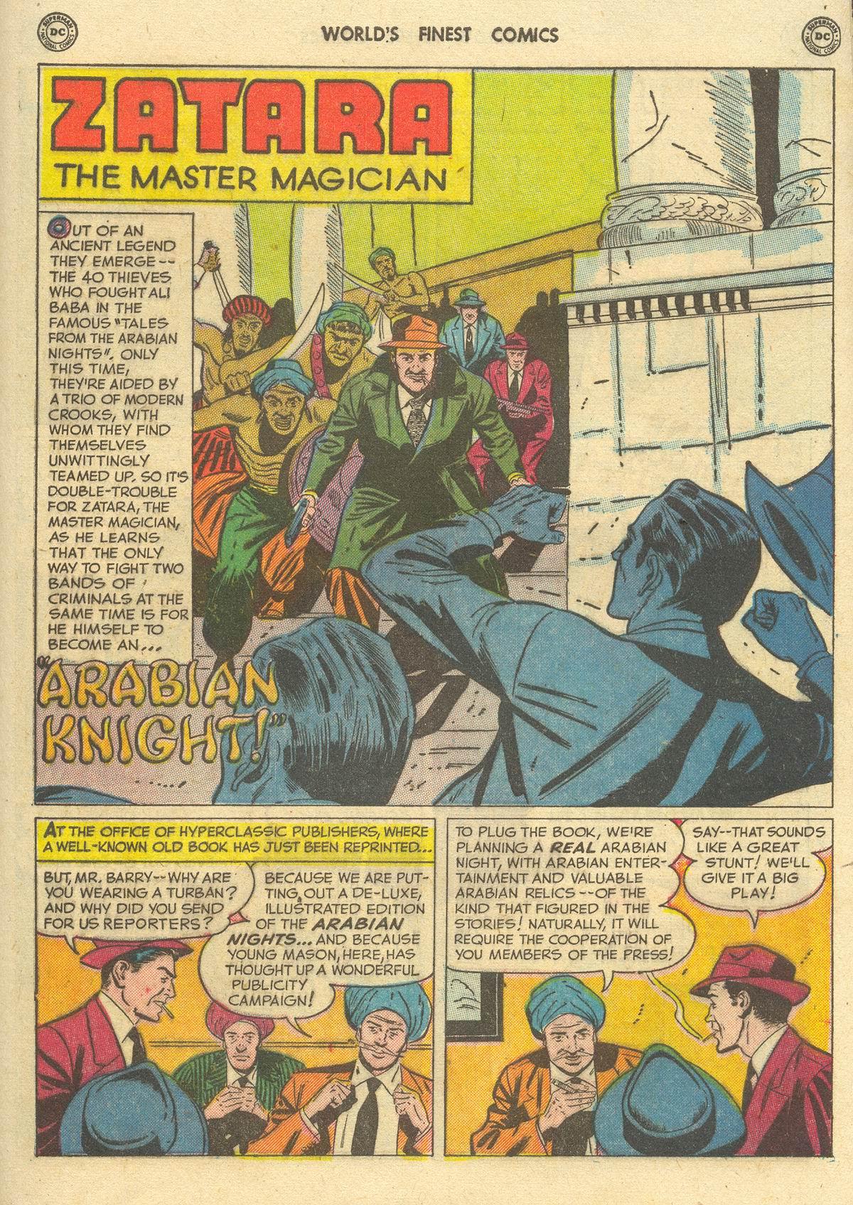 Read online World's Finest Comics comic -  Issue #51 - 55
