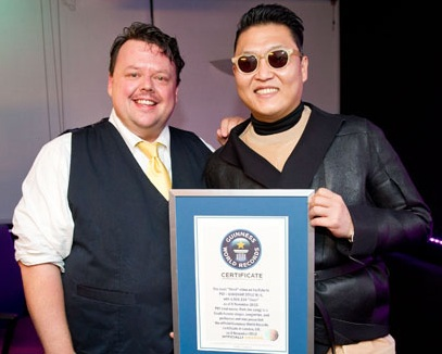 Bloggers award guinness world record certificate awarded for Guinness world record certificate template