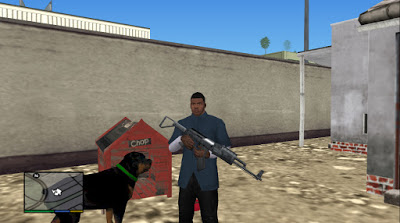 Chop Dog GTA V PS2
