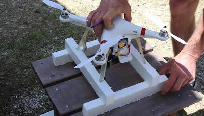 Cara Membuat Pelampung Drone menggunakan Styrofoam - GudangDrone