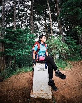 Jangan ingat mantan selama pendakian biar gak baper - foto instagram septiandw