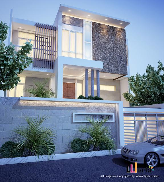 Desain Rumah Tinggal Villa Citra