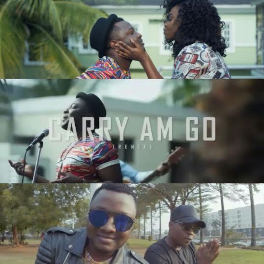 Video] Damz Ft  Olamide & Niniola - Carry Am Go Remix