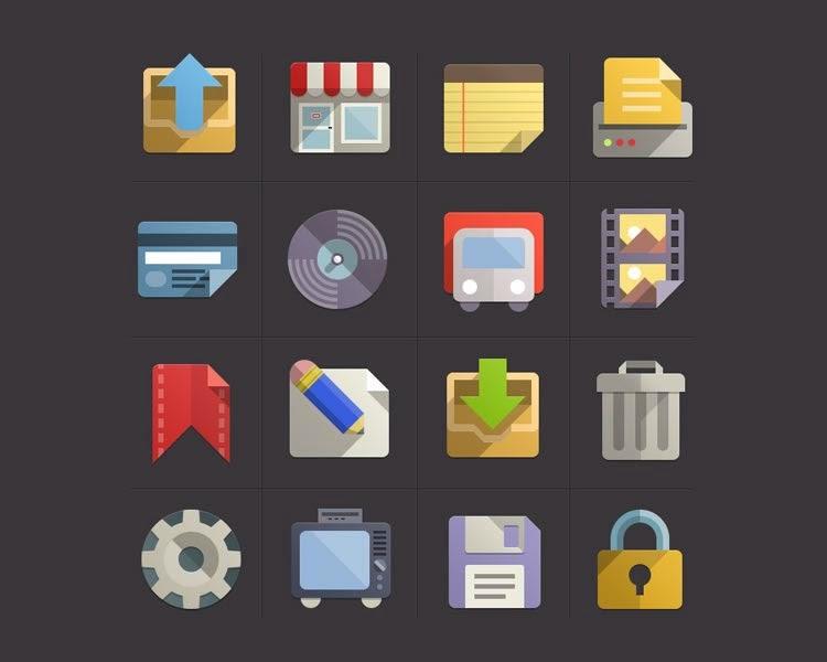 Flat design Icon Set vol.3