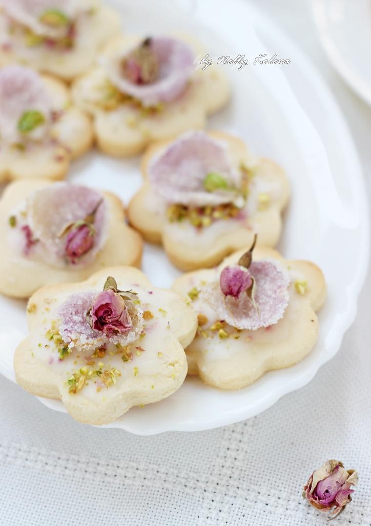 Персийски бисквити с розова вода