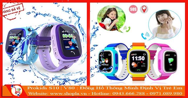 Đồng hồ trẻ em chống nước