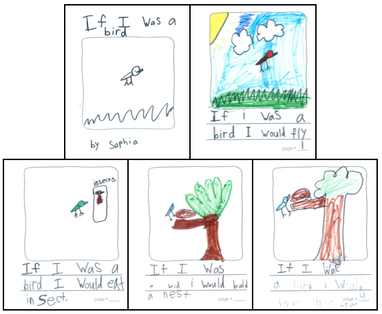 Check out examples of Kindergarten informational writing and the nonfiction mentor texts that inspired their writing. This post also includes a way to support struggling Kindergarten informational text writers.