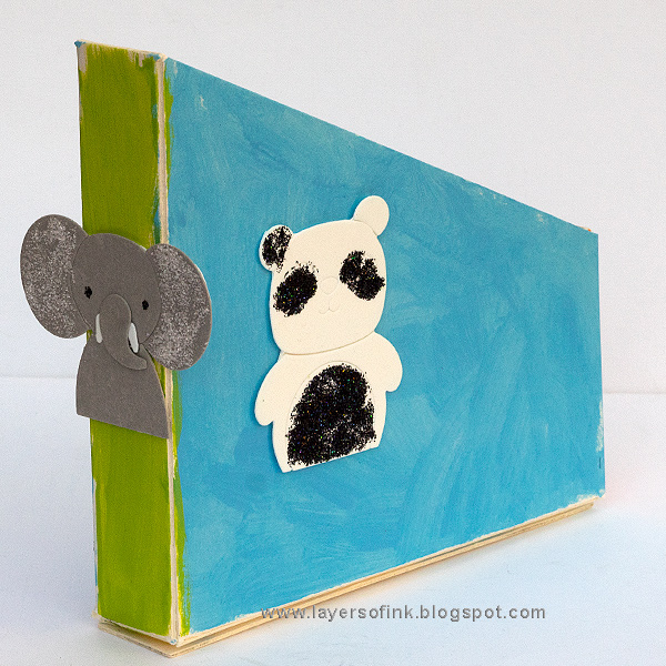 Layers of ink - Sparkly Animal Storage Holder