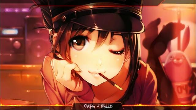 Download Nightcore - OMFG - Hello Wallpaper Engine