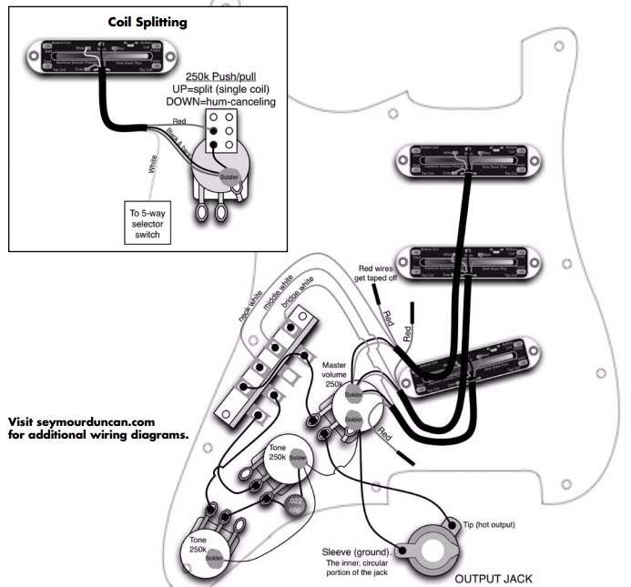 wiring diagram for pickup models