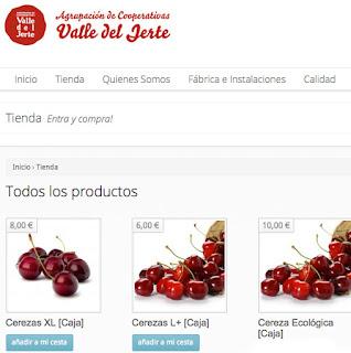 Comprar Cerezas del Jerte por Internet