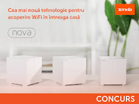 Castiga un sistem wireless mesh Tenda NOVA