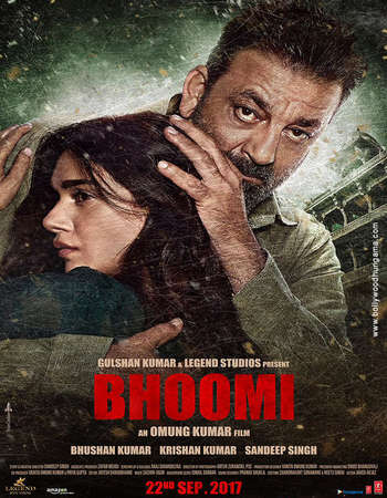 Bhoomi 2017 Hindi 700MB Pre-DVDRip x264