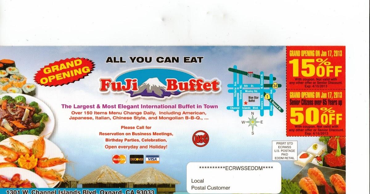 oxnard fuji buffet