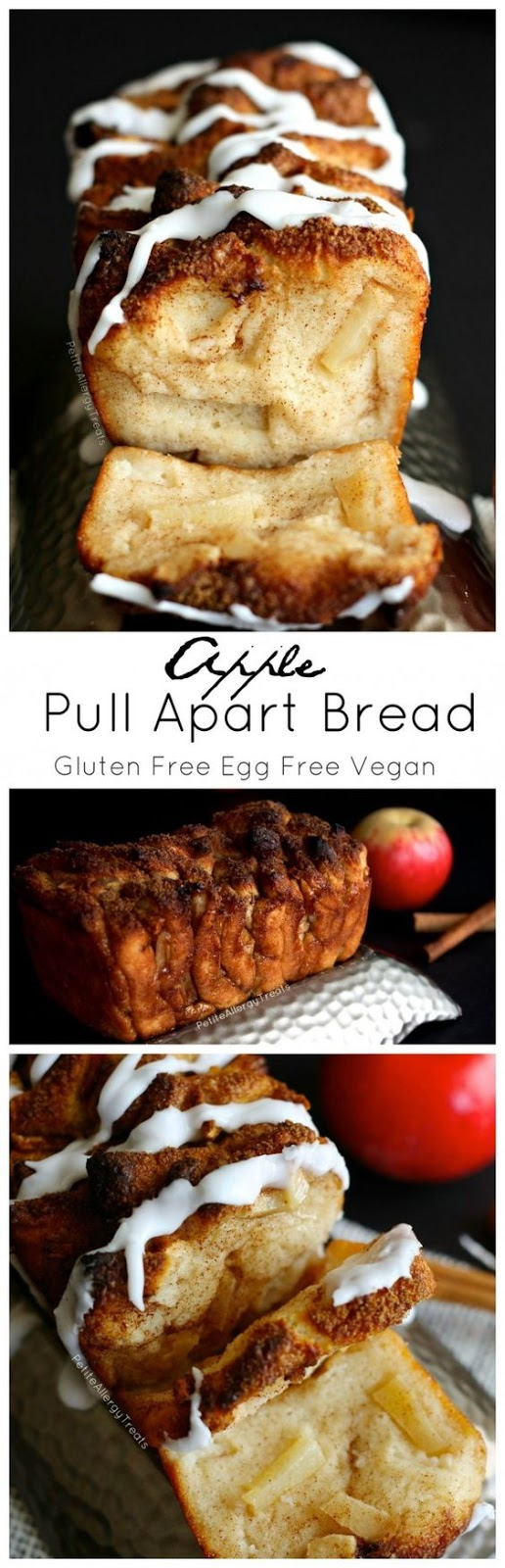 APPLE PULL APART BREAD (GLUTEN FREE VEGAN)