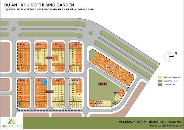 Mở bán dự án sing garden bắc ninh