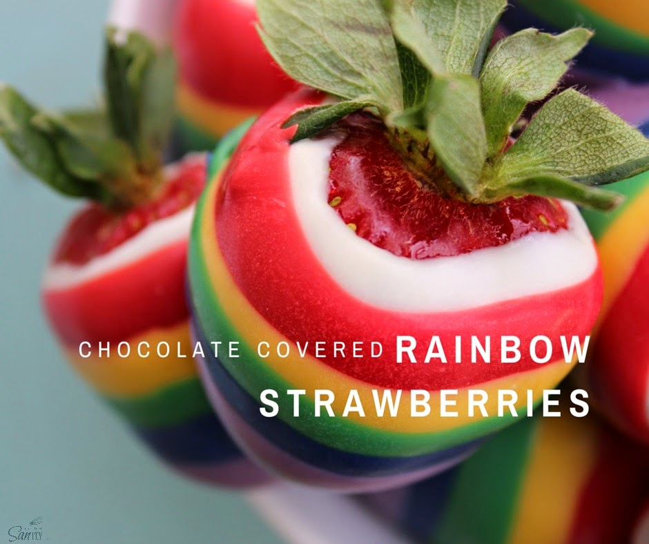 rainbow strawberries | Chocolate covered strawberries ... |Rainbow Chocolate Covered Strawberries