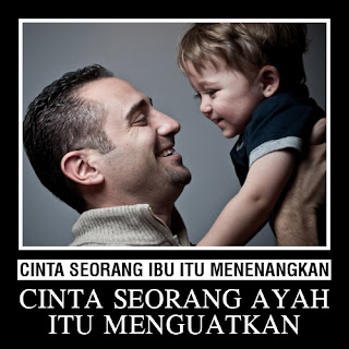 Kasih Sayang Seorang Ayah dan Ibu Kepada Anaknya