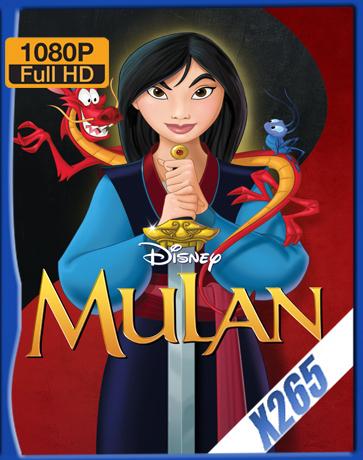 Mulan [1998] [Latino] [1080P] [X265] [10Bits][ChrisHD]