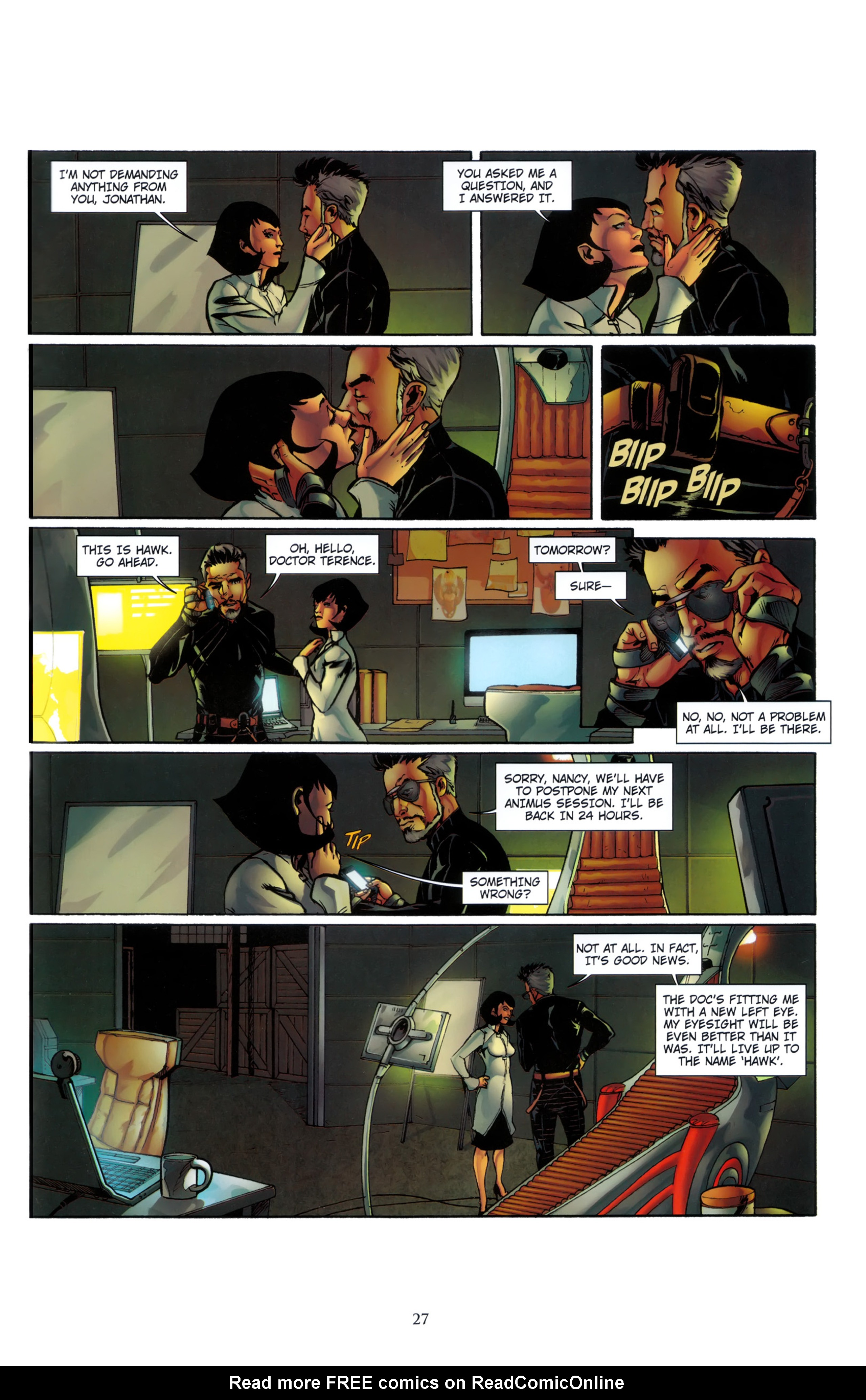 Read online Assassin's Creed (2012) comic -  Issue #5 - 27