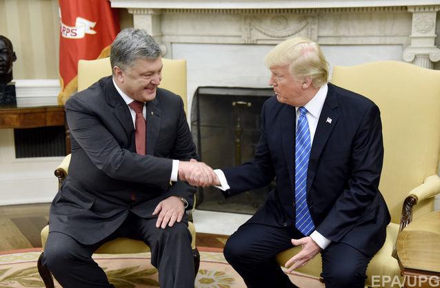 Українська сторона заплатила $400 тисяч за організацію зустрічі Порошенка з Трампом - BBC