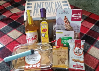 August 2016 American Gluten Free Subscription Box contents
