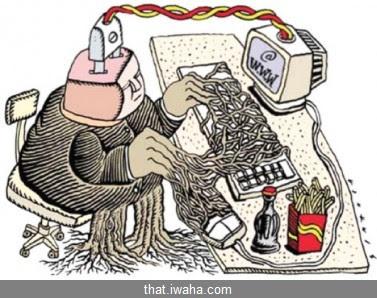 إدمان الكمبيوتر