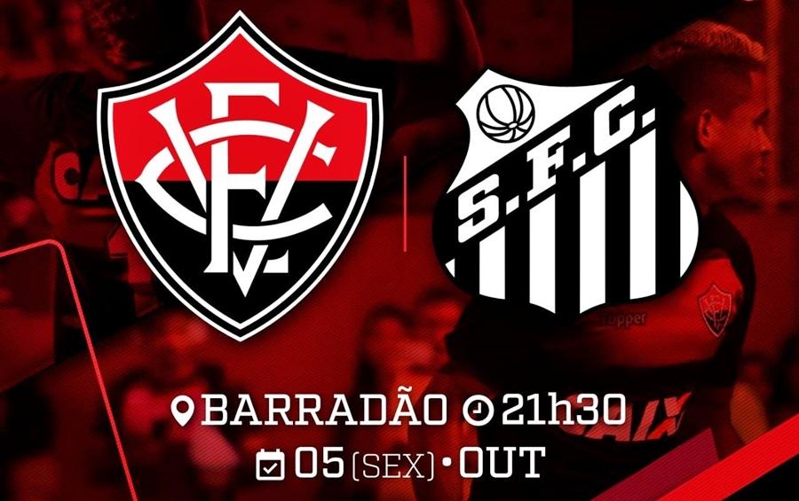 Assistir Vitória x Santos ao vivo HD pelo Campeonato Brasileiro 1